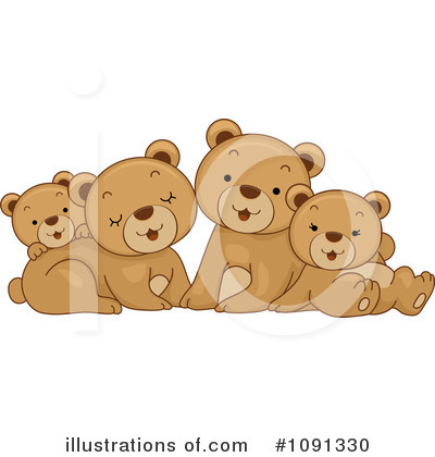 Wild Animals Clipart #1091330 by BNP Design Studio