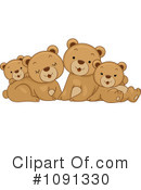 Royalty-Free (RF) Bears Clipart Illustration #1091330