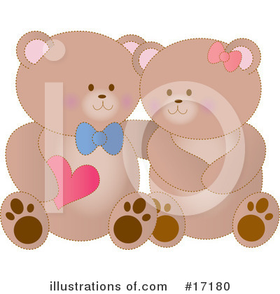 Teddy Bear Clipart #17180 by Maria Bell