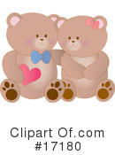 Royalty-Free (RF) Bears Clipart Illustration #17180