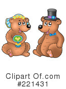 Royalty-Free (RF) Bears Clipart Illustration #221431