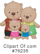 Bears Clipart #76235 by BNP Design Studio