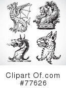 Royalty-Free (RF) Beast Clipart Illustration #77626