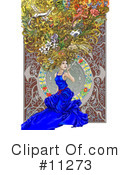 Royalty-Free (RF) Beauty Clipart Illustration #11273