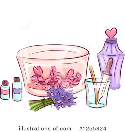 Perfume Clipart #1255824 by BNP Design Studio