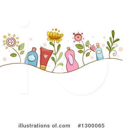 Floral Clipart #1300065 by BNP Design Studio