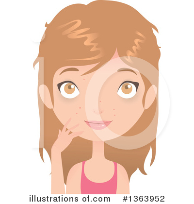 Royalty-Free (RF) Beauty Clipart Illustration by Melisende Vector - Stock Sample #1363952