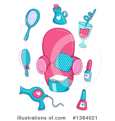 Hair Care Clipart #1384021 by BNP Design Studio