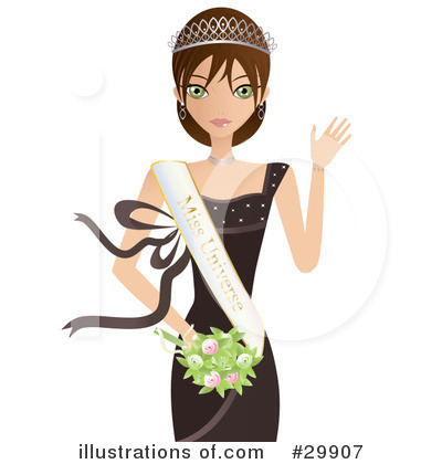 Dress Clipart #29907 by Melisende Vector