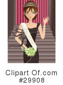 Royalty-Free (RF) Beauty Clipart Illustration #29908