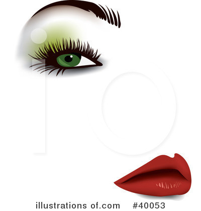 Lips Clipart #40053 by Eugene