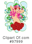 Royalty-Free (RF) beauty Clipart Illustration #97999