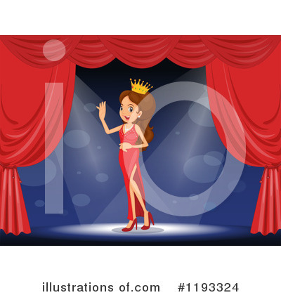 Beauty Pageant Clipart #1193324 by Graphics RF