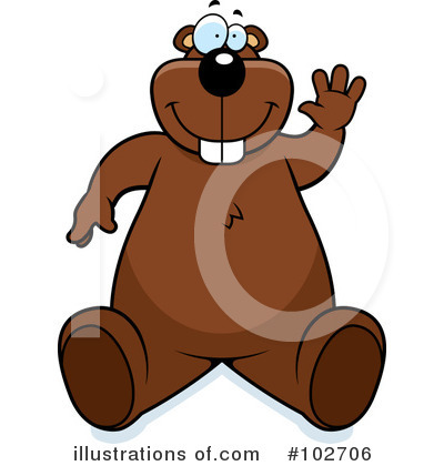 Beaver Clipart #102706 by Cory Thoman