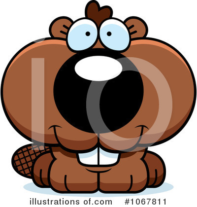 Beaver Clipart #1067811 by Cory Thoman