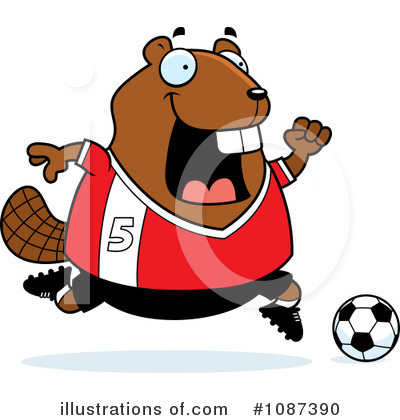 Beaver Clipart #1087390 by Cory Thoman