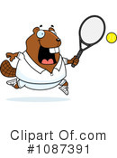 Royalty-Free (RF) Beaver Clipart Illustration #1087391