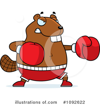 Boxer Clipart #1092622 by Cory Thoman