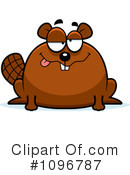 Beaver Clipart #1096787 by Cory Thoman