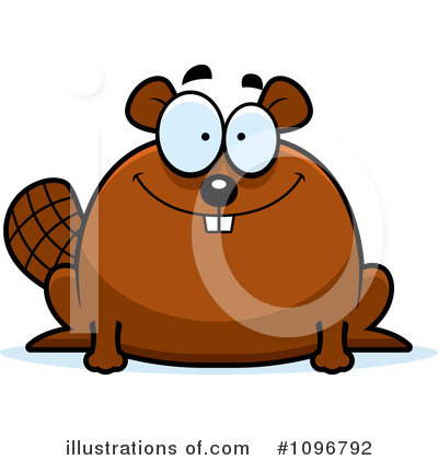 Beaver Clipart #1096792 by Cory Thoman