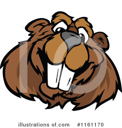 Beaver Clipart #1161170 by Chromaco