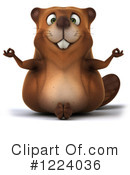 Beaver Clipart #1224036 by Julos