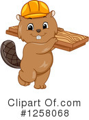 Royalty-Free (RF) Beaver Clipart Illustration #1258068