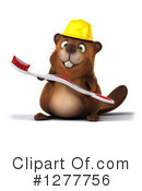 Beaver Clipart #1277756 by Julos