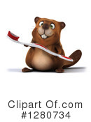 Beaver Clipart #1280734 by Julos
