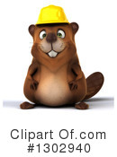 Beaver Clipart #1302940 by Julos