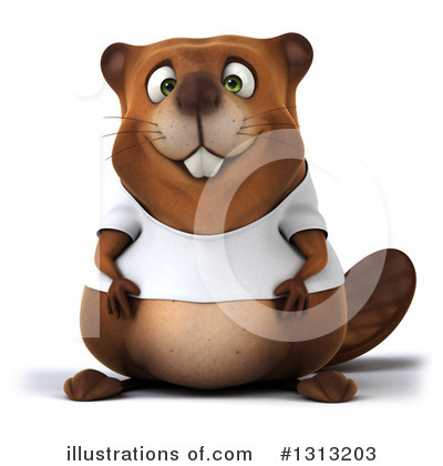 Beaver Clipart #1313203 by Julos