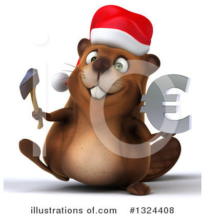 Beaver Clipart #1324408 by Julos