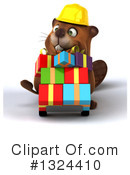 Beaver Clipart #1324410 by Julos