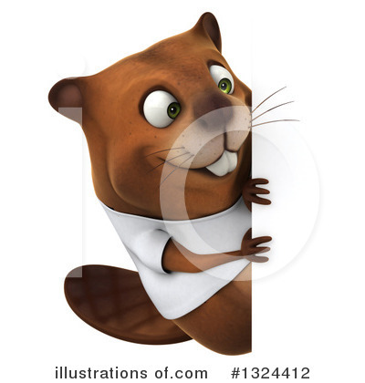 Beaver Clipart #1324412 by Julos