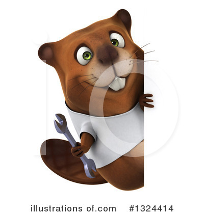 Beaver Clipart #1324414 by Julos