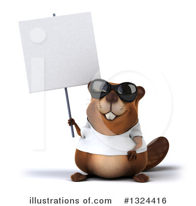 Beaver Clipart #1324416 by Julos
