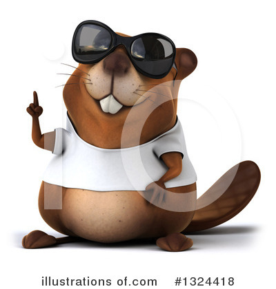 Beaver Clipart #1324418 by Julos