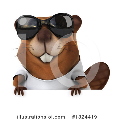 Beaver Clipart #1324419 by Julos
