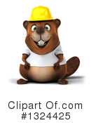 Beaver Clipart #1324425 by Julos