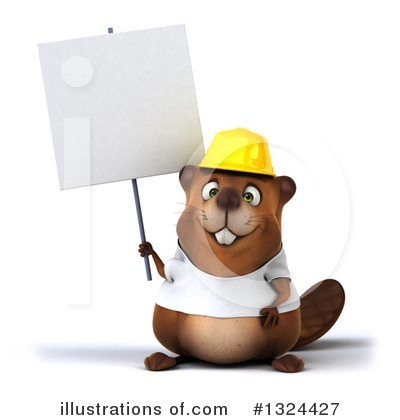 Beaver Clipart #1324427 by Julos