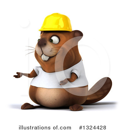 Beaver Clipart #1324428 by Julos
