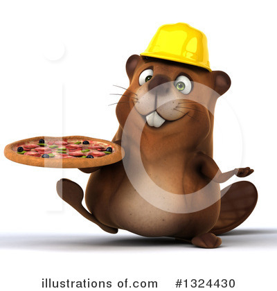 Beaver Clipart #1324430 by Julos
