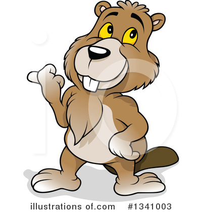 Beaver Clipart #1341003 by dero