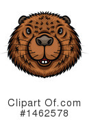 Beaver Clipart #1462578 by Vector Tradition SM