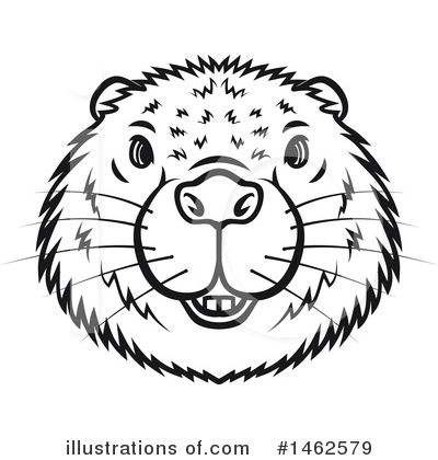 Beaver Clipart #1462579 by Vector Tradition SM