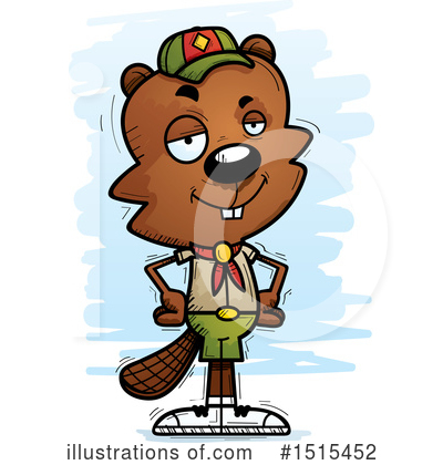 Beaver Clipart #1515452 by Cory Thoman