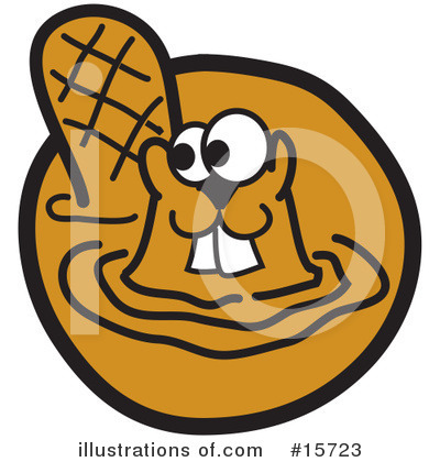 Beaver Clipart #15723 by Andy Nortnik