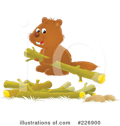Beaver Clipart #226900 by Alex Bannykh