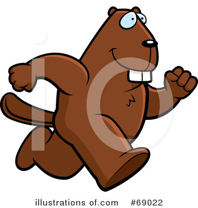 Beaver Clipart #69022 by Cory Thoman
