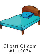 Bed Clipart #1119074 by Graphics RF